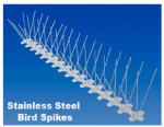 Bird B Gone MM2001-5/20 Bird Spike, Stainless Steel/Plastic, 5-In. x 20-Ft.