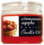 Candle Lite 2400021 Basics 3.5-oz. Cinnamon Scented Candle Jar