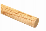 Madison Mill 432552 Oak Dowel Rod, 3/8 x 36-In.