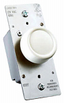 Pass & Seymour R600PLTKV 600-Watt Ivory Maximum Single Pole Rotary Power Dimmer