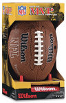 Wilson Team Sports WTF1414PT NFL MVP Junior Football With Pump & Kicking Tee