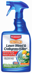 Bayer Crop Science 704125A Lawn Weed & Crabgrass Killer, 24-oz.