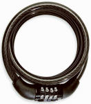 Bell Sports 7076469 Watchdog 100  Bicycle Cable Lock, 5-Ft.