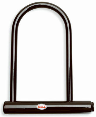 1 new bell sports hands off u lock bike lock vinyl coated shackle 7067993. Black Bedroom Furniture Sets. Home Design Ideas