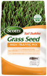 Scotts Lawns 18354 Turf Builder High Traffic Grass Seed Mix, 3-Lbs., Covers 1200 Sq. Ft.