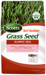 Scotts Lawns 18345 Turf Builder Sunny Grass Seed Mix, 3-Lbs., Covers 1350 Sq. Ft.