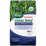 Scotts Lawns 18296 Turf Builder Heat-Tolerant Blue Grass Seed Mix, 3-Lbs., Covers 750 Sq. Ft.