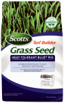 Scotts Lawns 18308 20-Lbs. Turf Builder Heat-Tolerant Blue Grass Seed Mix