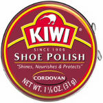 Kiwi 101-020 1-1/8OZ Cordovan Shoe Paste