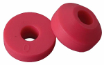Brass Craft Service Parts SCB2095 Faucet Washer, 0 Beveled, Red, 17/32-In., 10-Pk.