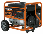 Generac Power Systems 5982 GP Series Portable Electric Generator With Wheel Kit, 3250/3750-Watt