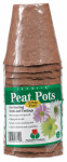 Plantation Products FR312B Peat Pot Pack, 3-In. Round Bonus, 15-Pk