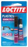 Henkel 681925 Super Glue Plastics Bonder with Activator, 2-Gram