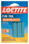 Henkel 1087306 Fun-Tak Mounting Putty, 2-oz.