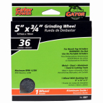 Ali Industries 6027 Coarse Grinding Wheel, 5 x .75 x 1-In.