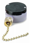 Gardner Bender GSW-34 Brass-Plated Pull-Chain Ceiling Fan Switch