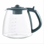 Medelco GL312BK 12-Cup Universal Replacement Glass Carafe