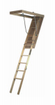 Louisville Ladder FTL254P Wood Attic Stairways Ladder, 54-Inch x 10-Ft. 250-Lb. Rated