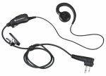 Motorola/Acs HKLN4604 Swivel Earpiece + Push-To-Talk Microphone