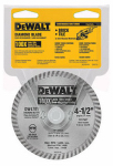 Dewalt Accessories DW4701 Dry-Cut Diamond Wheel, 4.5-In.