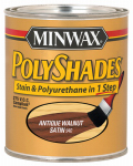 Minwax The 219404444 1/2-Pint Satin Antique Maple Polyshades Stain