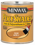Minwax The 61920 1-Quart Satin Pecan Polyshades Stain