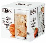 Libbey Glass 2369 4-Pk. 15.5-oz. Crystal Cooler Glasses - Must Purchase in Quantities of 4