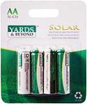 "Jiawei Technology BT-NC-AA-900-D4 4-Pack Rechargeable ""AA"" Solar Light Batteries"
