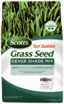 Scotts Lawns 18338 Turf Builder Dense Shade Mix For Tall Fescue Lawns, 3-Lbs., Covers, 750 Sq. Ft.