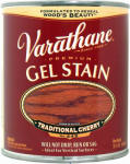 Rust-Oleum 224458H Varathane Qt. Traditional Cherry Gel Wood Stain