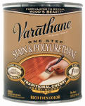Rust-Oleum 225246H Varathane Qt. Traditional Cherry Stain & Polyurethane