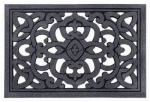 Multy Home Lp 5000033 Doormat, Celtic Scroll Grey Flocked Rubber, 24 x 36-In.