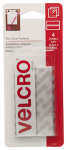 Velcro Usa Consumer Pdts 91327 Thin Clear Fasteners, 3.5 x 3/4-In. Strips, 4-Ct.