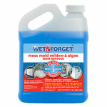 Wet & Forget Us Nz Lp 800003 Moss, Mold & Mildew Stain Remover, 1/2-Gal.