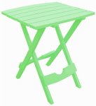 Adams Mfg 8500-08-3731 Sum GRN Fold Side Table