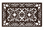 Palm Fibre Private Limited PLM 14333 Rubber Doormat, Bronzed, 18 x 30-In.