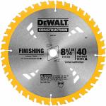 Dewalt Accessories DW3184 8.25-Inch 40-TPI Circular Saw Blade