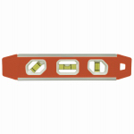 Johnson Level & Tool 1421-0900 9-Inch Contractor Magnetic Torpedo Level
