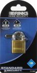 Hampton Prod Intl 171-30001 1-3/16 Inch Solid-Brass Pin Tumbler Padlock