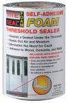Cofair Products TSFM42 Threshold Sealer, Self-Adhesive Foam, 5.5-In. x 3.5-Ft.