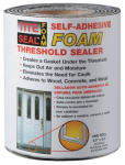 Cofair Products TSFM65 Threshold Sealer, Self-Adhesive Foam, 5.5-In. x 6.5-Ft.