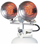 Pinnacle Products International PT-32-TTC Tank-Top Radiant Heater, 30,000-BTU