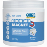 Weiman Products 4120D Odor Absorbing Gel, Brushed Cotton, 14-oz.