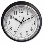 Nyl Holdings/Westclox 46991 Simplicity 8-Inch Round Wall Clock, Black