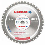 American Saw & Mfg 21881ST714040CT Metal-Cutting Circular Saw Blade, 7.25-In. x 40TPI