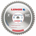 American Saw & Mfg 21884ST800050CT Metal-Cutting Circular Saw Blade, 8-In. x 50TPI