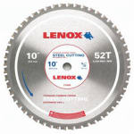 American Saw & Mfg 21886ST100052CT Metal-Cutting Circular Saw Blade, 10-In. x 52TPI