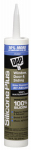 Dap 08771 Silicone Plus Window & Door Sealant, Clear, 10.1-oz.