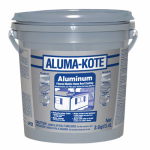 Gardner-Gibson 6241-GA Aluminum Mobile Home Roof Coating, Fibered, 3.6-Qts.