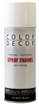 True Value Mfg CDS13-AER Spray Paint, Interior/Exterior, Satin White, 10-oz. Aerosol